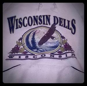 Other - vintage Wisconsin Dells sweatshirt hoodie